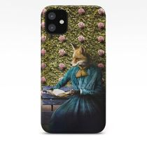 Society6 iPhoneCase & GALAXY Case☆きつね Book☆