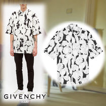 GIVENCHY☆JUNGLE FLOWER PRINT SHORT SLEEVE SHIRT シャツ