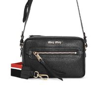 MiuMiu★lambskin camera bag black【謝恩品EMS関税込】