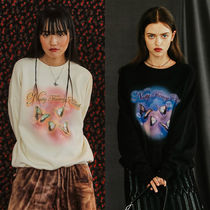 ★NASTYFANCY★日本未入荷 韓国 蝶 FANCY MARIPOSA SWEATSHIRTS
