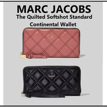 【MARC JACOBS】長財布 The Quilted Softshot Standard Wallet