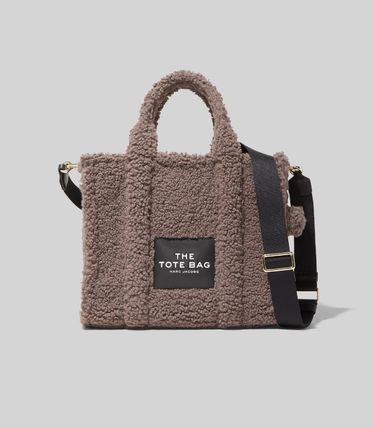 MARC JACOBS ハンドバッグ ☆送料関税込み☆ MARC JACOBS THE TEDDY 2WAYトートバッグ 新作(2)