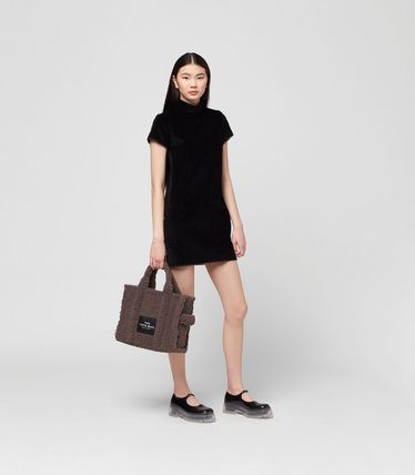 MARC JACOBS ハンドバッグ ☆送料関税込み☆ MARC JACOBS THE TEDDY 2WAYトートバッグ 新作(3)