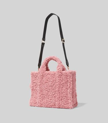 MARC JACOBS ハンドバッグ ☆送料関税込み☆ MARC JACOBS THE TEDDY 2WAYトートバッグ 新作(11)