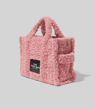 MARC JACOBS ハンドバッグ ☆送料関税込み☆ MARC JACOBS THE TEDDY 2WAYトートバッグ 新作(9)