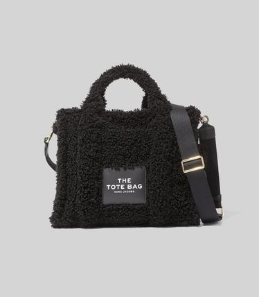 MARC JACOBS ハンドバッグ ☆送料関税込み☆ MARC JACOBS THE TEDDY 2WAYトートバッグ 新作(12)