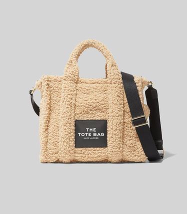 MARC JACOBS ハンドバッグ ☆送料関税込み☆ MARC JACOBS THE TEDDY 2WAYトートバッグ 新作(17)
