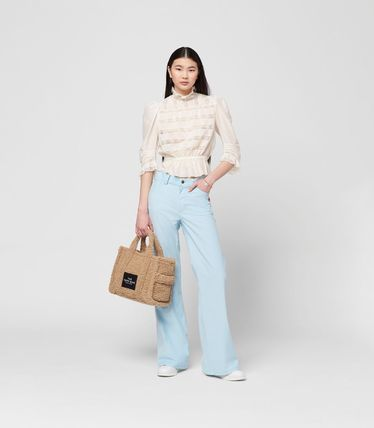 MARC JACOBS ハンドバッグ ☆送料関税込み☆ MARC JACOBS THE TEDDY 2WAYトートバッグ 新作(18)