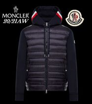20/21AW【MONCLER】袖ロゴ付きパッド入りスウェットパーカー