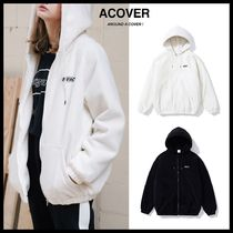 ◆ACOVER◆ MERC LOGO FLEECE ZIP UP (2色) フリースジャケット