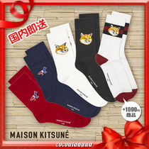 ★MAISON KITUNE★TRICOLOUR FOX SOCK★