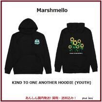 Marshmello(マシュメロ) キッズ用トップス 【Marshmello】KIND TO ONE ANOTHER HOODIE (YOUTH)