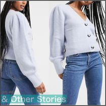 & Other Stories【国内発送】Heart Button Cardigan ブルー