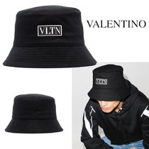 VALENTINO GARAVANI VLTN COTTON BUCKET HAT