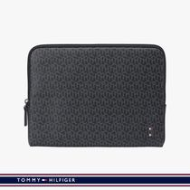 [20FW][TOMMY HILFIGER] THモノグラムロゴタブレットPCバッグ