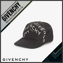 [Givenchy] Refraction branded satin cap 送料関税込