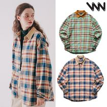WV PROJECT★Mocca balloon check Shirts 2カラー MJLS7414