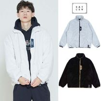 ROMANTIC CROWN★BACK LINE PATCH FLEECE JACKET 3COLOR