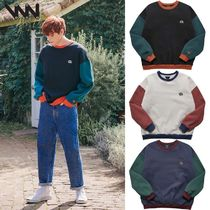 WV PROJECT★大人気★BLENDING SWEATSHIRT - MJMT7404 3カラー