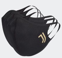 [Adidas] Face Cover Black 3枚セット ユベントス