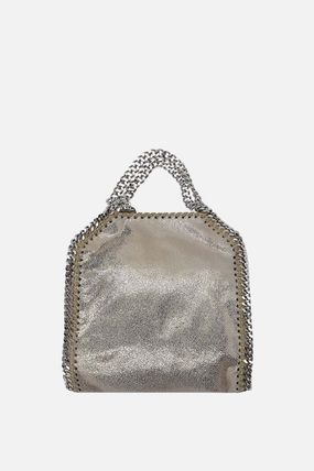 【STELLA McCARTNEY 】FALABELLA TINY TOTE IN SHAGGY DEER