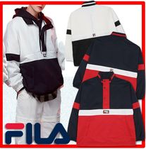 ☆BTS 着用☆【FILA】☆Color Blocking Anorak Jacket☆人気☆