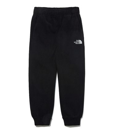 THE NORTH FACE キッズ用トップス ☆人気☆THE NORTH FACE☆K'S ECO FLEECE SNAP R TEE SET☆(14)