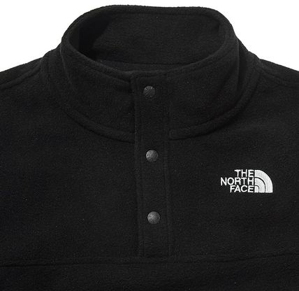 THE NORTH FACE キッズ用トップス ☆人気☆THE NORTH FACE☆K'S ECO FLEECE SNAP R TEE SET☆(17)