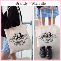 日本未入荷!! ☆Brandy Melville☆ HEAVEN SENT TOTE BAG