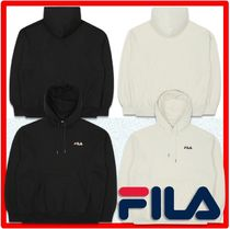 ☆BTS 着用☆人気☆FILA☆Overfit Small Linear Raised Hoodie☆
