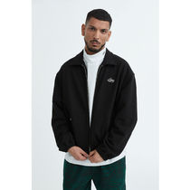 [ LMC ] LMC SWEAT HARRINGTON JACKET (Black)