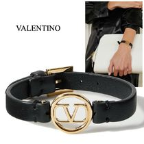 ∞∞ VALENTINO ∞∞ VLOGO leather ブレスレット☆