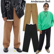 ★ANDERSSON BELL★日本未入荷 韓国 DOUBLE KNEE WIDE TROUSERS