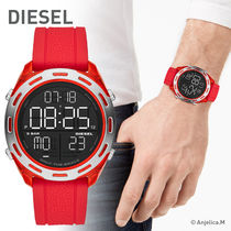 ★クール!安心ヤマト便★DIESEL Crusher Digital Red Silicone