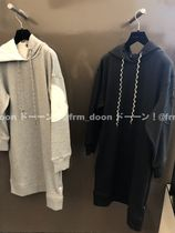 【MONCLER】20/21AW 袖ビッグロゴ ドレス/ パーカーワンピース