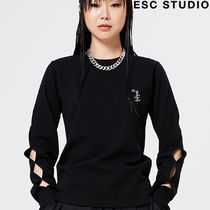 ★ESCSTUDIO★Slit long sleeves (black)★正規品/韓国送料込
