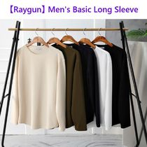 【Raygun】 Men's Basic Long Sleeve