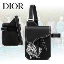 "20AW【Dior】 ""SADDLE"" ""DIOR AND SHAWN""""BEE"" ポーチ"