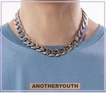 ANOTHERYOUTH(アナザーユース) ネックレス・チョーカー 韓国 『ANOTHERYOUTH』 logo chain necklace