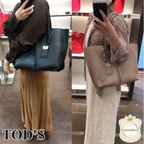 TOD'S(トッズ) トートバッグ すぐ届く■トッズ■大人気TOD'S ブラックトートバッグXBWAMF