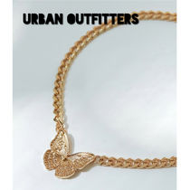 Urban Outfitters, バタフライ チェーンネックレス