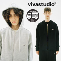 VIVASTUDIO BASIC LOGO HOODIE ZIP UP JA BBH360 追跡付