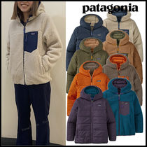 大人OK patagonia◆Boys Reversible Ready Freddy Hoddy 親子で