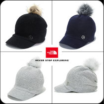 [THE NORTH FACE]★韓国大人気★W KNIT LOOSE CAP