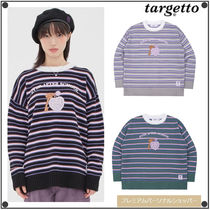 日本未入荷TARGETTO SEOULのKEY RING STRIPE KNIT 全3色