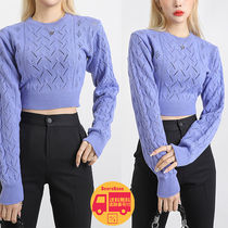 our_uniform Dia Crop Knit BBN1565 追跡付
