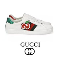 追跡あり GUCCI Mens New Ace Sneakers スニーカー