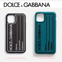 SALE★ロゴ【送込 DOLCE&GABBANA】iphone 11/Pro/Max★Name Tag