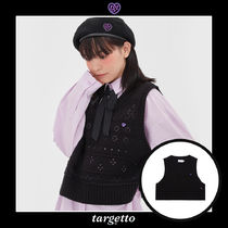 [TARGETTO] SCASI KNIT VEST 3COLOR 送料無料