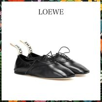 LOEWE☆ DERBY LEATHER SHOESソフト ダービー BLACK